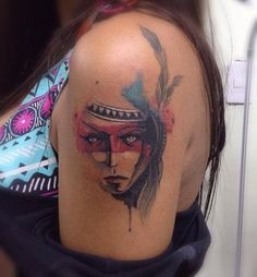 #watercolor #aquarela #tattoo #victoroctaviano  #beautiful #art #inspiration…