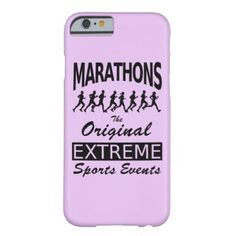 #country - #MARATHONS the original extreme sports events Barely There iPhone 6 Case