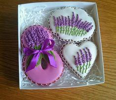 Купить Пряники 8 Марта Лаванда - сердце, пряник, пряники, расписные пряники, валентинка, признание