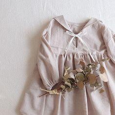 Baby Dress Design, Baby Girl Dress Patterns, Cute Girl Dresses, Little Girl Dresses, Baby Kids Clothes, Doll Clothes, Baby Girl Fashion, Kids Fashion, Kawaii Dress