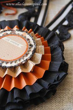 {Ella Claire}: Vintage Inspired DIY Halloween Decor