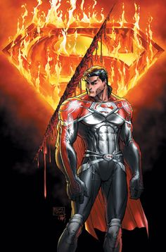 Superman: Godfall by Michael Turner  #Comics #Illustration #Drawing