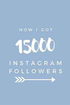 How I got 15000 Instagram Followers - The tactics that I used to grow my Instagram following from 0 to 15000 in only a few months. a few easy steps that can help you increase your following.