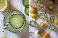 No picnic is complete without refreshments, and nothing is more refreshing than an ice-cold cucumber lemon drop. I enjoy making this drink for events because the flavors are simple, clean, and appeal to most. Fun Drinks, Healthy Drinks, Alcoholic Beverages, Cocktails, Juice Smoothie, Smoothies, Vodka, Picnic Style, Fat Flush