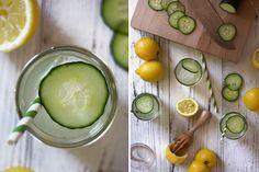 citron okurka drink