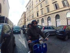 Besten Dank an Peter, der an der Rom Vespa Tour teilnahm und uns sein Foto schickte. Wir wollen auch deine Eindrücke von Rom.
