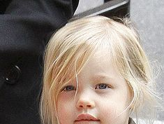 See photos of Shiloh Jolie-Pitt. Shiloh Jolie, Jolie Pitt, Brad And Angelina, Angelina Jolie, Hollywood Life, Then And Now, Old Pictures, Siblings, Baby Photos