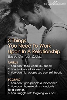 3 Things You Need To Work Upon In Your Relationship Based On Your Zodiac Sign - https://themindsjournal.com/things-you-need-work-relationship-zodiac/