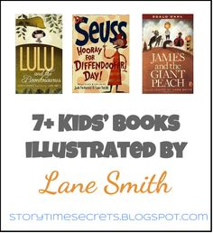 Story Time Secrets: 9 Kids' Books Illustrated by Lane Smith