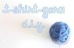 Zehn Möglichenkeiten ein T-Shirt zu recyceln und was die Wissenschaft damit zu tun hat {DIY-Serie} // T-Shirt Garn herstellen