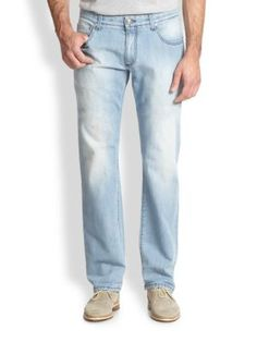 Isaia Light Straight Leg Denim Jeans | Pants, Clothing and Workwear