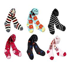 Baby Girls Stock Legging Christmas Winter 6 Pack Cotton Tights Panties 02TF >>> To view further for this item, visit the image link.
