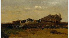Hut op de heide, Paul Gabriël, 1879.