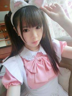so very kawaii Maid Outfit, Maid Dress, Maid Cosplay, Cosplay Girls, Harajuku Fashion, Lolita Fashion, French Maid Uniform, Kyary Pamyu Pamyu, Popular Costumes