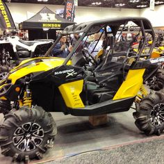 Another shot of the #CanAm #maverick #indyexpo