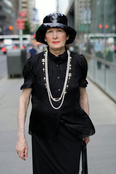 an amazing stylish 79 year old woman