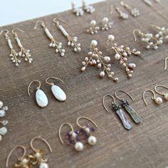 Wire Earrings, Crystal Earrings, Wire Jewelry, Antique Jewelry, Drop Earrings, Wire Crafts, Stone Beads, Artisan Jewelry, My Etsy Shop