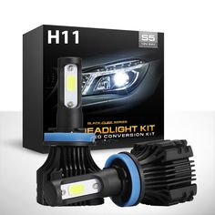 Nice Awesome H11 H8 1000W 150000LM CREE LED Headlight Lamp Bulb Conversion Kit fog light HID 2017 2018