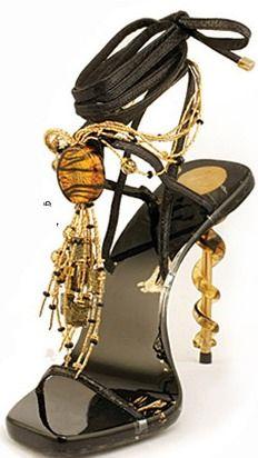 Murano Glass Shoe www.saturnostore.com