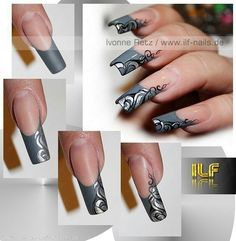 Uv gel nail art tutorial gallery nail art and nail design ideas the darker side by salamandrina73 via repostwhiz app lovely by salamandrina73 via repostwhiz app lovely nails prinsesfo Choice Image