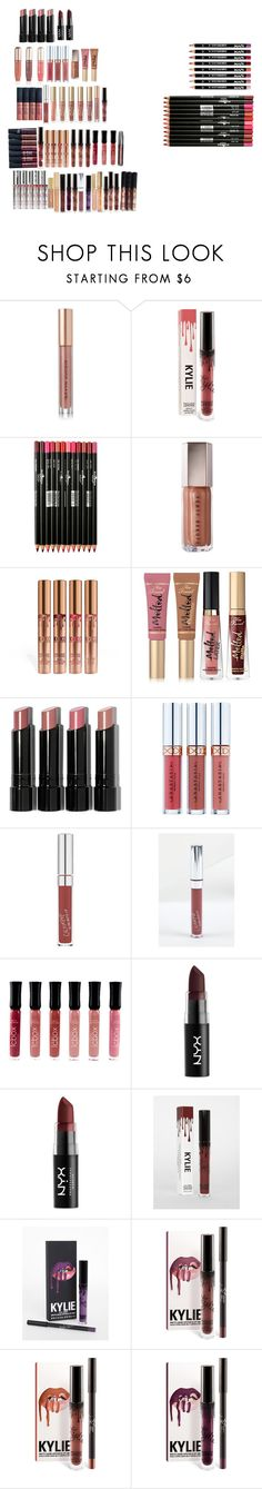 """""""makeup"""" by cuteoutfits4you on Polyvore featuring Kevyn Aucoin, Too Faced Cosmetics, Bobbi Brown Cosmetics, Anastasia Beverly Hills, NYX and Kylie Cosmetics"""
