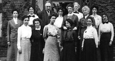 """Edward Pickering and his female assistants, known as the """"Harvard computers."""""""
