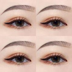 Makeup korean eyeliner 37 New Ideas Make-up Korean Eyeliner 37 Neue Ideen Korean Makeup Look, Korean Makeup Tips, Korean Makeup Tutorials, Eye Makeup Tips, Makeup Inspo, Makeup Inspiration, Beauty Makeup, Makeup Ideas, Korean Makeup Tutorial Natural