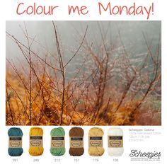 Brought to you by Scheepjes. Each Monday we release a new Inspirational Snapshot to help you plan your knit and crochet projects! www.scheepjes.com #Scheepjes #Scheepjeswol