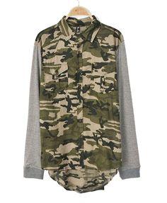 Camouflage jacke jakes