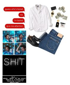 """""""Tony Stark// Iron Man"""" by mrsstylik1999 ❤ liked on Polyvore featuring Marvel, Banana Republic, PS Paul Smith, Giuseppe Zanotti, Rolex, Clive Christian, Imperial Barber Products, men's fashion and menswear"""