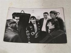 Ray Charles meeting Eric Burdon, and The Animals (1966). Photo by Bill Ray.