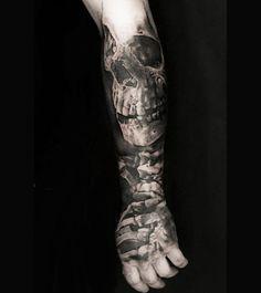 Realism Skull Tattoo by Neon Judas?