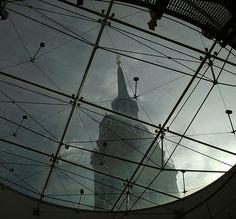 Alter Peter through a #skylight  #München