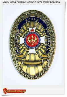 Nowa odznaka Ochotnicza Straż Pożarna