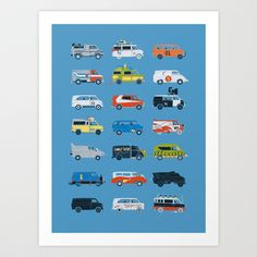 Buy It Would Have Been Cooler as a Van by Brandon Ortwein as a high quality Art Print. Society6.com