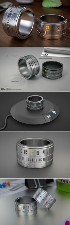 CGSociety's Cyber unveils his latest project, the Ring Clock Read more at http://www.techeblog.com/index.php/tech-gadget/geeky-ring-clock#LRVEGP2VYPk3i7sQ.99
