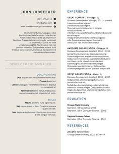 buy a resume template resume design - Buy Resume Template