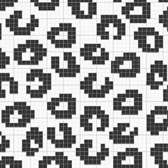 If I were an animal, I would be a snow leopard. :) Look at this pattern Lankava. If I were an animal, I would be a snow leopard. :) Look at this pattern Lankava. Tapestry Crochet Patterns, Bead Loom Patterns, Beading Patterns, Cross Stitch Patterns, Crochet Chart, Filet Crochet, Crochet Stitches, Knitting Charts, Knitting Patterns