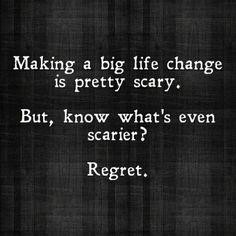 Regret.
