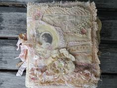 Paper and lace Journal From the Attic ~ chrissiecrosser on You tube