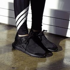Inspired by pioneers the  Y-3 A/W 15-16 Qasa Elle Lace Available in retail and online on y-3.com. #adidas #y3 by adidasy3