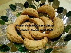 Biskut Kelapa Rangup Brownie Cookies, No Bake Cookies, Yummy Cookies, Cake Cookies, Baking Cookies, Home Baking, Biscuit Recipe, Spicy Recipes, Macarons