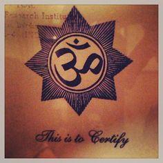 The most ancient tone known as Om vibrating and illuminating all my poems. -  MC Yogi @mcyogi108 #yoga #meditation #Padgram
