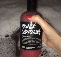 Prince Charming shower gel. Quite a sweet scent, but i like it, although i usually tend to go for citrusy scents.
