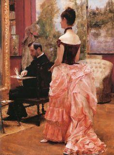 L'ebauche - Emile Friant 1885 | Eva's blog