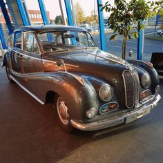 Good old times. #BMW #Classic #Oldtimer #Car...