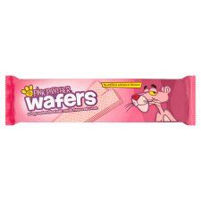 Pink Panther Wafers Vanilla 185G - Groceries - Tesco Groceries