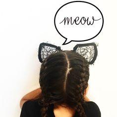 Schattige kattenoortjes voor kinderen! Online te bestellen op runway-kids.com