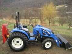 Maintenance , New Holland Tc35 Compact Tractor Parts