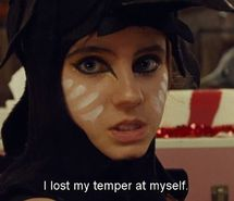 """wes anderson moonrise kingdom quote """"I lost my temper at myself"""""""